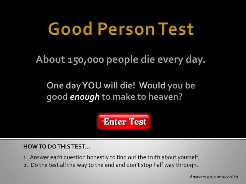 what is a good person